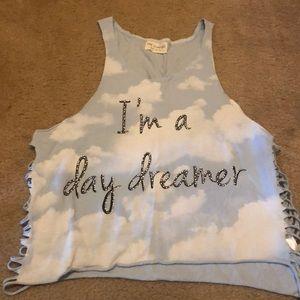 """I'm a day dreamer"" cloud tank"